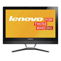 "Lenovo IdeaCentre C560 2.5GHz G1840T 23"" 1920 x 1080Pixel Nero PC All-in-one"