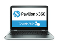 "HP Pavilion x360 13-s101np 2.3GHz i5-6200U 13.3"" 1920 x 1080Pixel Touch screen Argento Ibrido (2 in 1)"