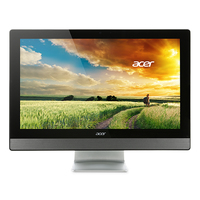 "Acer Aspire Z3-615 3.2GHz i3-6100T 23.8"" 1920 x 1080Pixel Nero, Argento PC All-in-one"