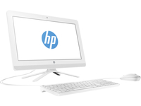 "HP 22-b054ng 2.3GHz i3-6100U 21.5"" 1920 x 1080Pixel Nero, Bianco PC All-in-one"