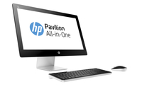 "HP Pavilion 23-q278cn 2.8GHz i7-6700T 23"" 1920 x 1080Pixel Nero, Argento PC All-in-one"