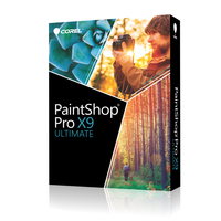 Corel PaintShop Pro X9 Ultimate Mini-Box ML