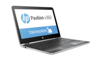 "HP Pavilion x360 13-u038ca 2.3GHz i3-6100U 11.6"" 1366 x 768Pixel Touch screen Argento Ibrido (2 in 1)"