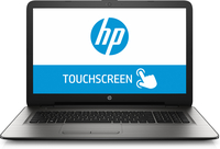 "HP 17-x020nr 2GHz i3-5005U 17.3"" 1600 x 900Pixel Touch screen Nero, Argento Computer portatile"