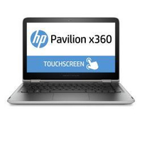 "HP Pavilion x360 13-s115nl 2.3GHz i3-6100U 13.3"" 1920 x 1080Pixel Touch screen Nero, Argento Ibrido (2 in 1)"