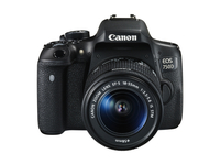 Canon EOS 750D + EF-S 18-55 IS STM Kit fotocamere SLR 24.2MP CMOS 6000 x 4000Pixel Nero