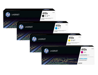 HP 410X High Yield Original LaserJet Toner Cartridges Laser cartridge Nero, Ciano, Giallo