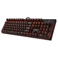 Gigabyte GK-FORCE K85 USB QWERTY Nero tastiera