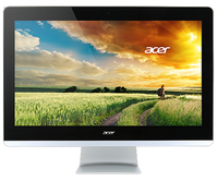 "Acer Aspire Z3-710 3.2GHz i3-4170T 23.8"" 1920 x 1080Pixel Touch screen Nero, Argento PC All-in-one"