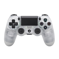 Sony DualShock 4 Gamepad PlayStation 4 Nero, Trasparente