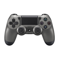Sony DualShock 4 Gamepad PlayStation 4 Nero, Acciaio inossidabile