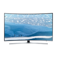"Samsung UE49KU6650U 49"" 4K Ultra HD Smart TV Wi-Fi Argento, Titanio LED TV"