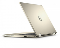 "DELL Inspiron 3148 1.6GHz N3700 11.6"" 1366 x 768Pixel Touch screen Nero, Oro Ibrido (2 in 1)"