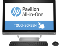 "HP Pavilion 27-a001la 2.2GHz i5-6400T 27"" 1920 x 1080Pixel Touch screen Nero, Argento PC All-in-one"