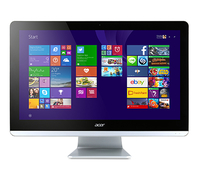 "Acer Aspire ZC-700 1.6GHz J3710 19.5"" 1920 x 1080Pixel Nero, Bianco PC All-in-one"
