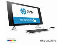 "HP ENVY 24-n251ng 2.8GHz i7-6700T 27"" 2560 x 1440Pixel Touch screen Nero, Perlato, Bianco PC All-in-one"