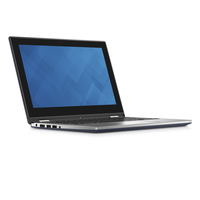 "DELL Inspiron 3152 1.6GHz N3700 11.6"" 1366 x 768Pixel Touch screen Nero, Argento Ibrido (2 in 1)"