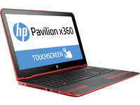 "HP Pavilion x360 15-bk002ng 2.3GHz i5-6200U 15.6"" 1920 x 1080Pixel Touch screen Nero, Rosso Ibrido (2 in 1)"
