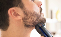 Philips BEARDTRIMMER Series 5000 BT5190/15 Nero, Blu regolabarba