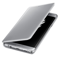 "Samsung Clear View 5.7"" Cover Argento"