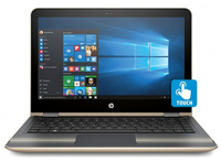"HP Pavilion x360 13-u050tu 2.3GHz i3-6100U 13.3"" Touch screen Oro Ibrido (2 in 1)"