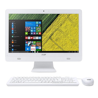 "Acer C20-720 1.6GHz J3060 19.5"" 1600 x 900Pixel Bianco PC All-in-one"