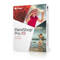 Corel PaintShop Pro X9 DE Mini-Box