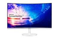 "Samsung C27F581FDU 27"" Full HD VA Argento monitor piatto per PC"