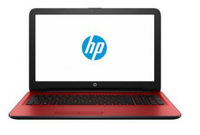 "HP 15-ay005 1.6GHz N3060 15.6"" 1366 x 768Pixel Nero, Rosso Computer portatile"