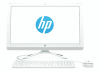 "HP 24-g053ng 2.3GHz i3-6100U 23.8"" 1920 x 1080Pixel Bianco PC All-in-one"
