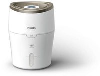 Philips 2000 series HU4804/40 Naturale 2L Metallico, Bianco umidificatore