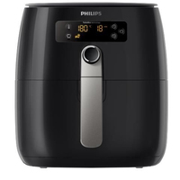 Philips Avance Collection HD9646/11 Singolo Indipendente 1425W Nero, Argento friggitrice