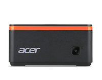 Acer Revo Build M1-601 1.6GHz J3060 PC di dimensione 1L Nero, Arancione Mini PC