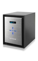 Netgear ReadyNAS 526X NAS Mini Tower Collegamento ethernet LAN Nero, Argento
