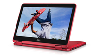 "DELL Inspiron 11 0.9GHz m3-6Y30 11.6"" 1366 x 768Pixel Touch screen Nero, Rosso Ibrido (2 in 1)"