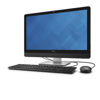"DELL Inspiron 24 2.8GHz i7-6700T 23.8"" 1920 x 1080Pixel Touch screen Nero, Argento PC All-in-one"
