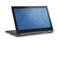 "DELL Inspiron 13 2.3GHz i3-6100U 13.3"" 1920 x 1080Pixel Touch screen Nero, Argento Ibrido (2 in 1)"