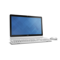 "DELL Inspiron 20 2.3GHz i3-6100U 19.5"" 1600 x 900Pixel Touch screen Nero, Bianco PC All-in-one"