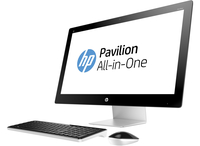 "HP Pavilion 27-n150ne 2.8GHz i7-6700T 27"" 1920 x 1080Pixel Bianco PC All-in-one"