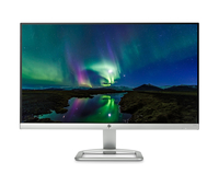"HP 24er 23.8"" Full HD IPS Argento, Bianco monitor piatto per PC"