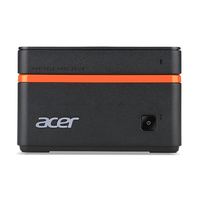 Acer Revo M1-601 1.6GHz J3710 PC di dimensione 1L Nero, Arancione PC