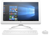 "HP Pavilion 22-b010nz 1.6GHz J3710 21.5"" 1920 x 1080Pixel Bianco PC All-in-one"