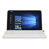 "ASUS T102HA-GR038T 1.44GHz x5-Z8350 10.1"" 1280 x 800Pixel Touch screen Arancione, Bianco Ibrido (2 in 1)"