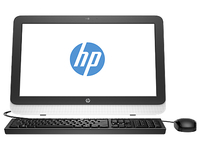 "HP 22-3104br 3.1GHz i3-4160T 21.5"" 1920 x 1080Pixel Nero, Bianco PC All-in-one"