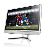 "Lenovo IdeaCentre C50-30 2GHz i3-5005U 23"" 1920 x 1080Pixel Metallico, Bianco PC All-in-one"