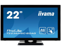 "iiyama ProLite T2236MSC 21.5"" 1920 x 1080Pixel Multi-touch Nero monitor touch screen"