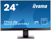 "iiyama ProLite XU2492HSU 23.8"" Full HD IPS Opaco Nero monitor piatto per PC"