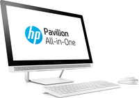 "HP Pavilion 24-b100nf 3.2GHz i3-6100T 23.8"" 1920 x 1080Pixel Bianco PC All-in-one"