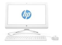 "HP 22-b011nf 1.6GHz J3710 21.5"" 1920 x 1080Pixel Bianco PC All-in-one"
