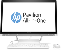 "HP Pavilion 27-a101nf 3.2GHz i3-6100T 27"" 1920 x 1080Pixel Bianco PC All-in-one"